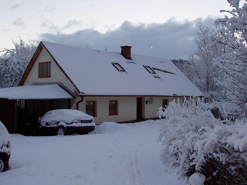 Carport vakantiehuis in Tsjechie